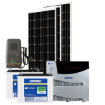 Off Grid Solar System MPPT – 2000VA with 1500 watt mono panel, for big homes, shops, offices etc.