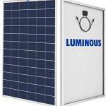 Luminous Polycrystalline Solar PV Module – 330 Wp 24V