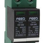 Solar DC SPD – FEEO: DC Double Pole 600V, 20-40 kA