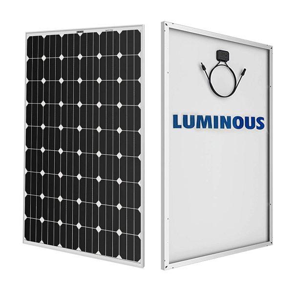 Luminous Mono PERC 380 Watt Solar Panel BIS certified